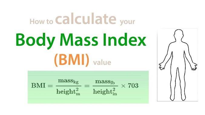 How to calculate BMI - BMI formula